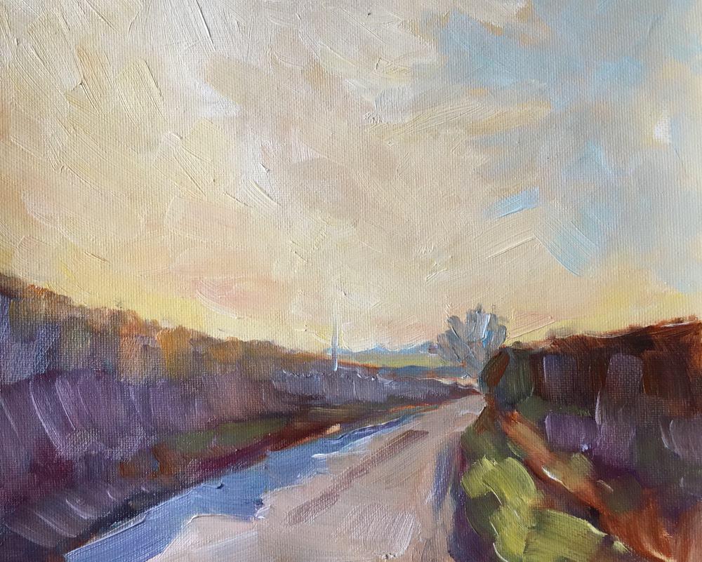 Emma Kate Hulett Fine Art - Morley Sunset II