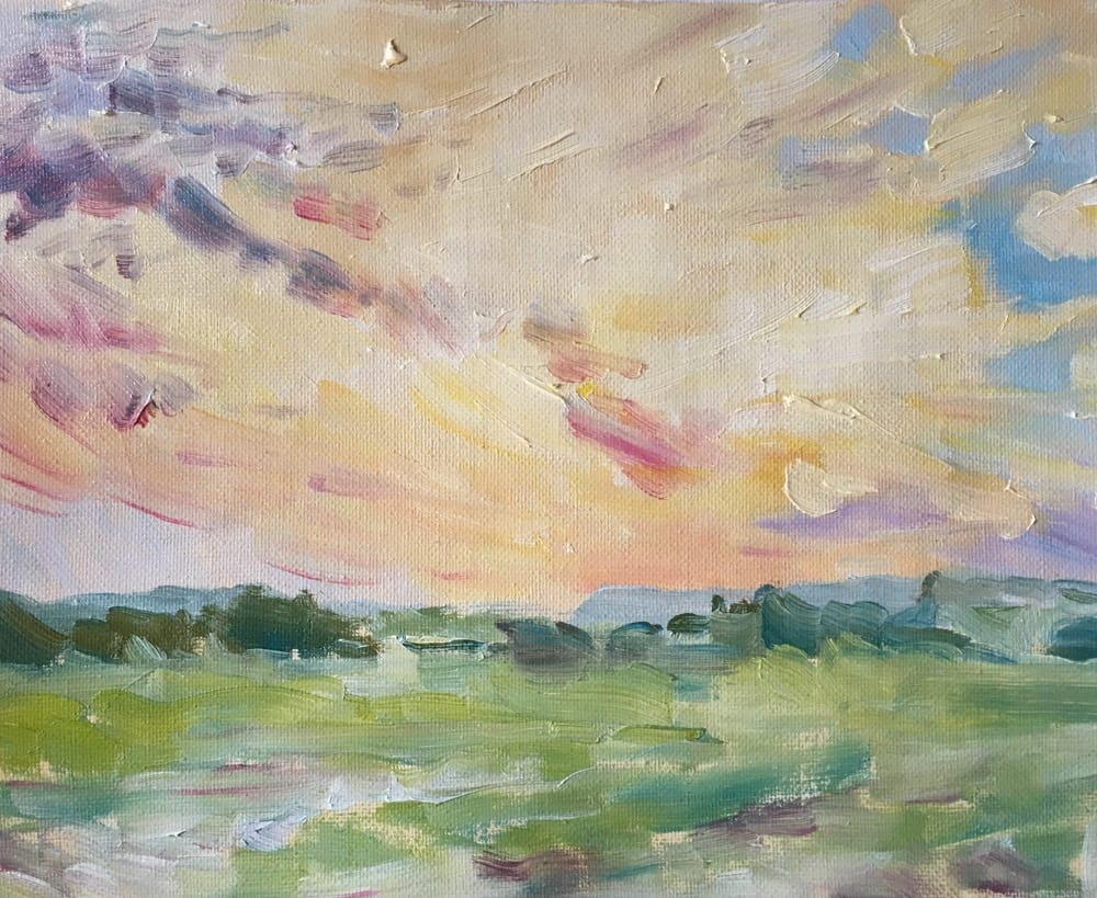 Emma Kate Hulett Fine Art - Morley Sunset
