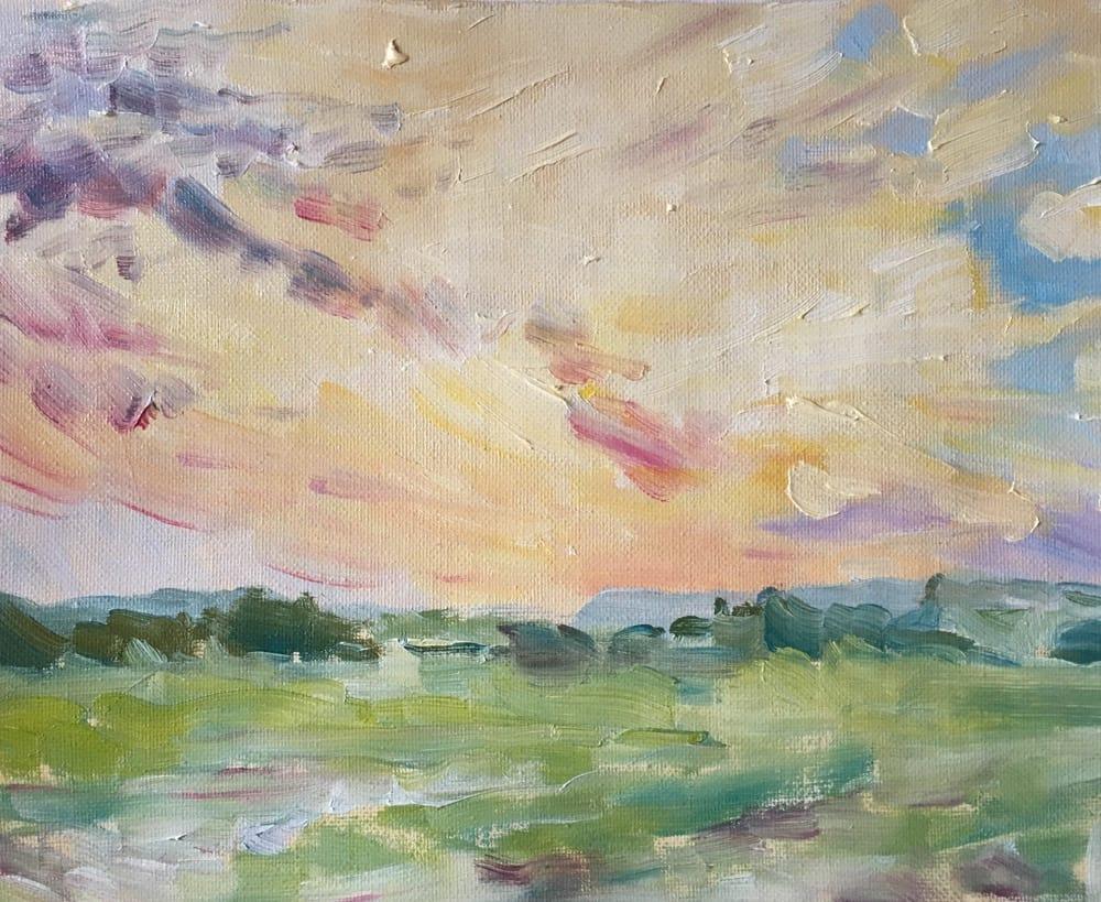 Emma Kate Hulett Fine Art - Morley Sunset
