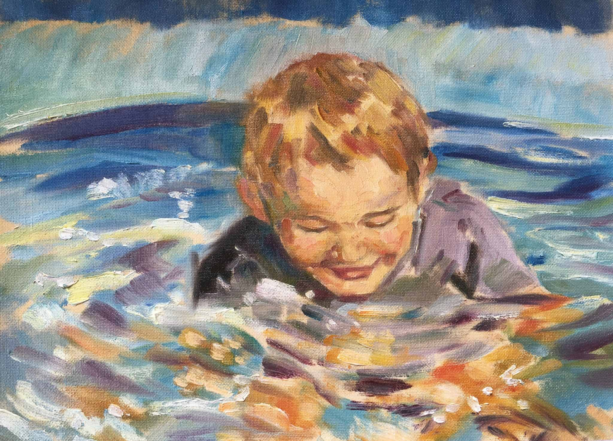 Water Fun - Emma Kate Hulett