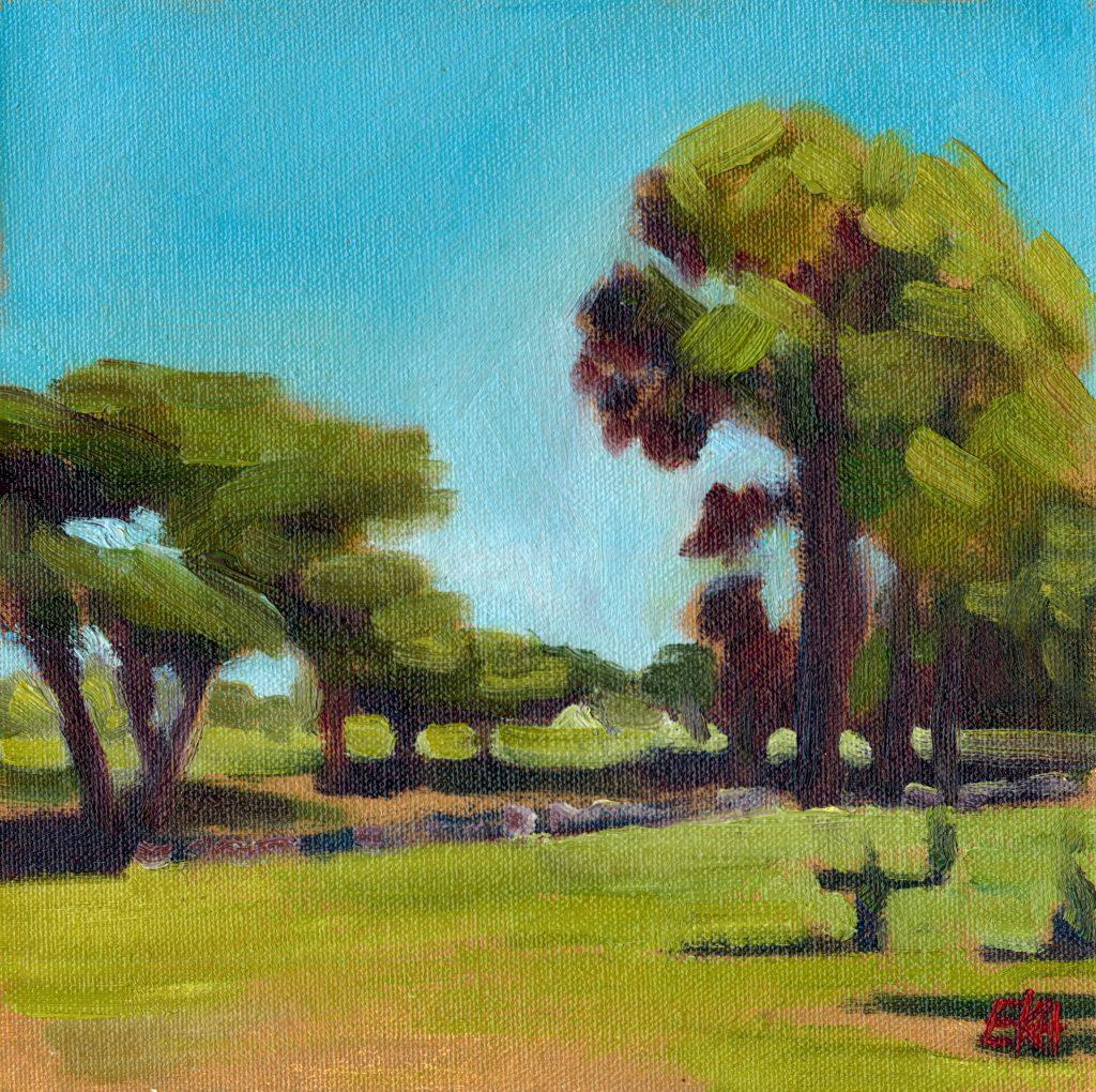 Klein Kariba Park South Africa - Giclee Print - Emma Kate Hulett