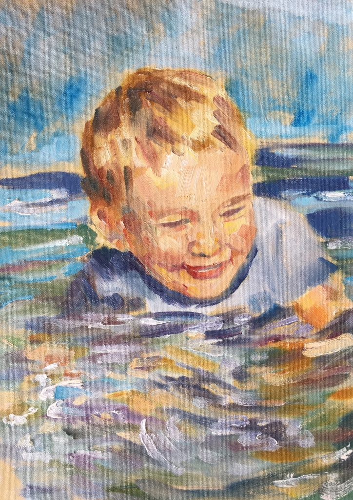 Water Fun II - Emma Kate Hulett
