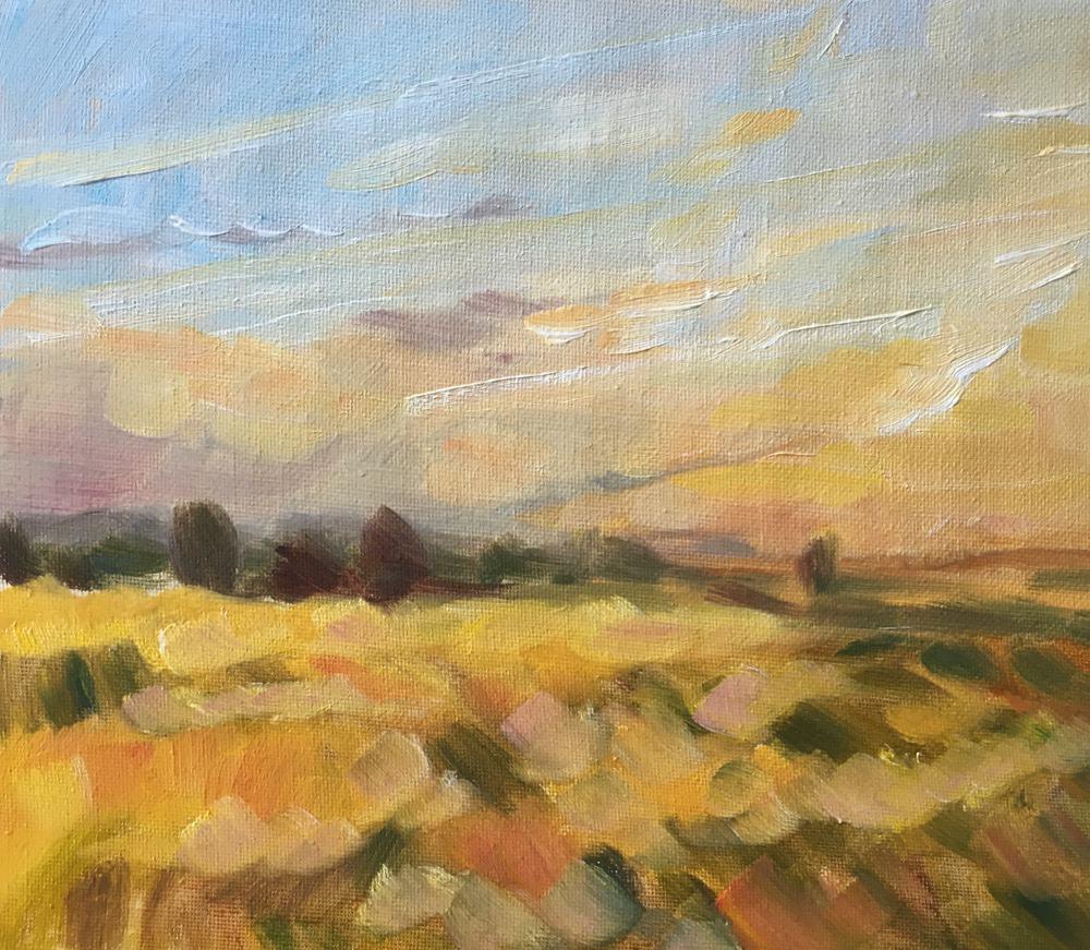 Golden Morning V - Emma Kate Hulett